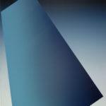 Blaues Trapez • 2000 • 230 x 190 cm • Öl auf Leinwand
