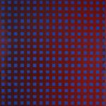 Raster III, brombeer  •  2009 •  190 x 170 cm • Öl auf Leinwand