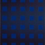 Raster blau-schwarz • 2009 • 60 x 50 cm • Öl auf Leinwand