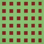 Raster 12 • 2010 • 40 x 30 cm • Öl auf Leinwand