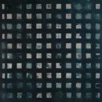 Raster, Durchblick • 2009 • 120 x 104 cm • Öl auf Leinwand