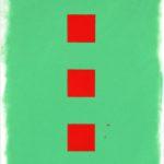 Raster, Zinnoberrot  •  2010 •  40 x 30 cm • Öl auf Leinwand