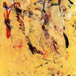 SM 9 •  1993 •  190 x 94 cm • Öl auf Leinwand