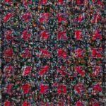 Nachtblütenraster • 2010 • 90 x 70 cm • Öl auf Leinwand