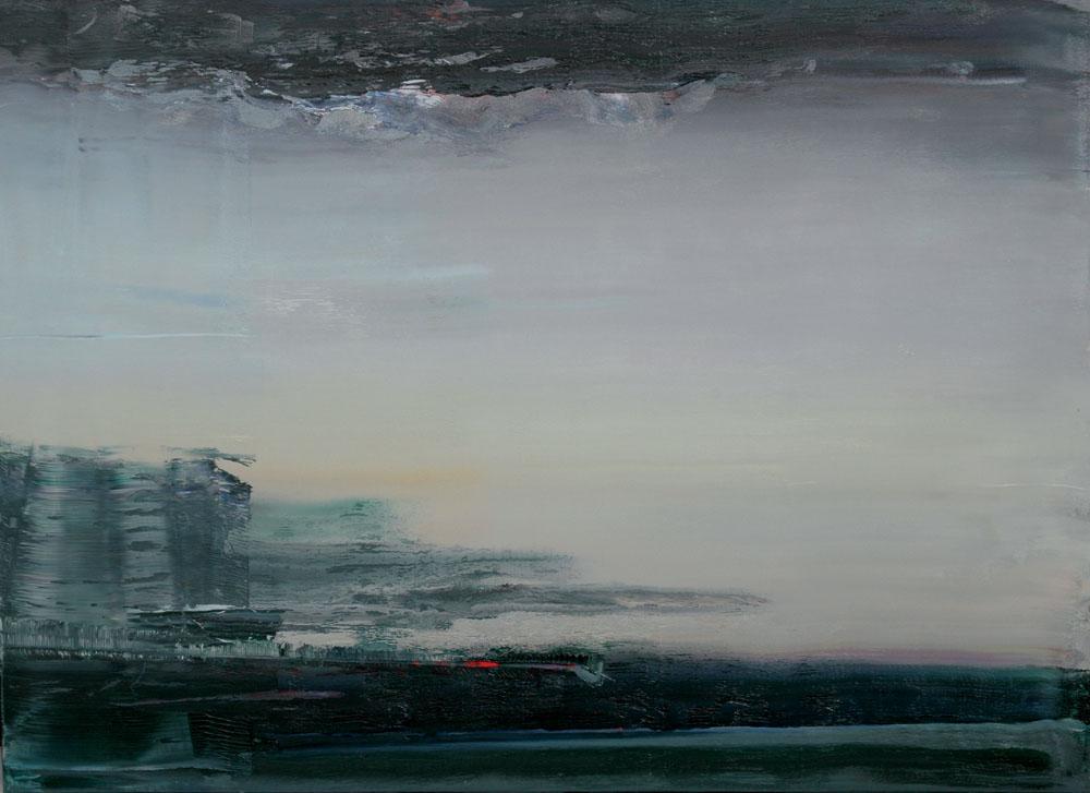 Horizont  •  2006 •  104 x 140 cm • Öl auf Leinwand