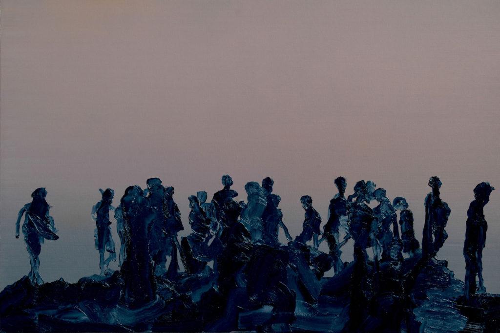 """Bild """"Gestrandet"""" von Bernhard Kock"""