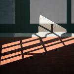 Sonnenlicht 1 • 2018 • 120 x 104 cm • Acryl auf Leinwand