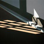 Sonnenlicht 2 • 2018 • 120 x 104 cm • Acryl auf Leinwand