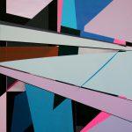 Spiegelung • 2018 • 120 x 104 cm • Acryl auf Leinwand